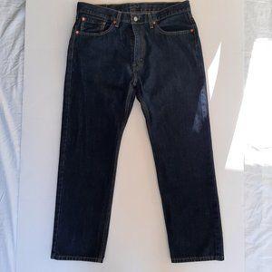 Levi's 505 Straight Leg Blue Wash Men's Jeans